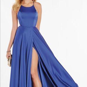 Alyce Paris Royal Blue Prom Dress NEVER WORN